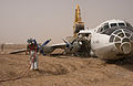 100728-N-0000M-005 crash-landed An-12BP at Camp Dwyer Afghanistan.jpg