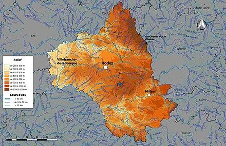 Liste des cours d'eau de l'Aveyron — Wikipédia