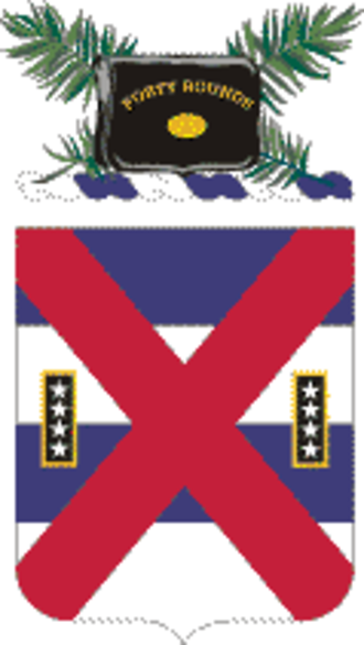 13th Infantry Regiment (United States) - Coat of arms
