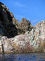 145 Cap de Pola (Tossa de Mar), escales tallades a la roca.JPG