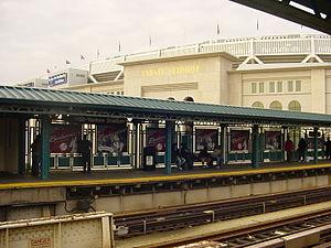 New york city subway yankee stadium