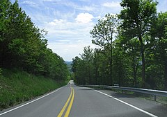 1655 - Brush Creek Twp - PA643 descending ridge.JPG