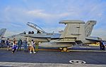 """168264 Boeing EA-18G Growler Electronic Attack Squadron 136 (VAQ-136) """"The Gauntlets"""" (13885749526).jpg"""