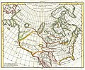 1772 Vaugondy - Diderot Map of North America ^ the Northwest Passage - Geographicus - NordetOuestAmerique-vaugondy-1772.jpg
