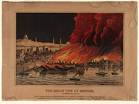Image illustrative de l'article Grand incendie de Boston