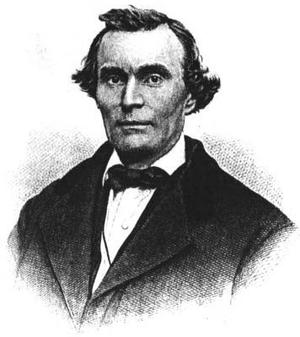 Henry Morgan (minister) - Portrait of Henry Morgan, ca.1870s