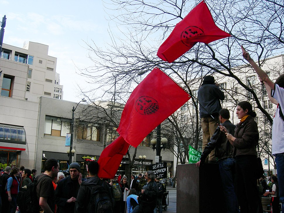 18 Mar 2007 Seattle Demo IWW 07A