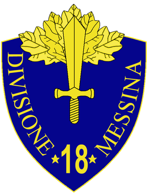 18th Infantry Division Messina - 18th Infantry Division Messina Insignia
