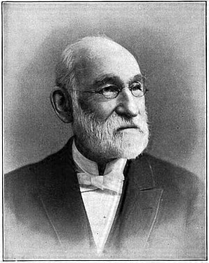 George Warren Wood -  The elder Reverend George W. Wood as pictured in his 1901 obituary in the Missionary Herald.