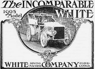 White Motor Company - Advertisement for the White Sewing Machine Company's 1905 model