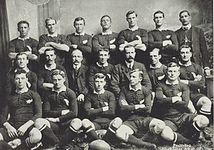 Fred Roberts (rugby union) - Image: 1908 All Blacks cropped