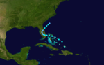 1909 Atlantic tropical storm 8 track.png