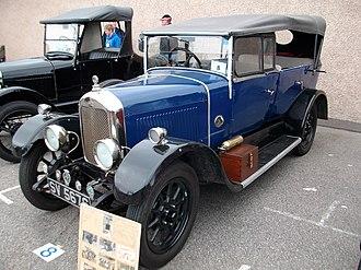 Singer Motors - Image: 1927 Singer Senior 1026 Tourer