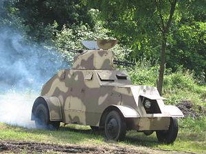 Samochód pancerny wz. 29 - Modern replica