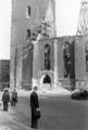 1947 wohl Franz Nitschke Foto von der Köbelingerstraße über den Platz Am Markte zur ausgebrannten Marktkirche von Hannover.png