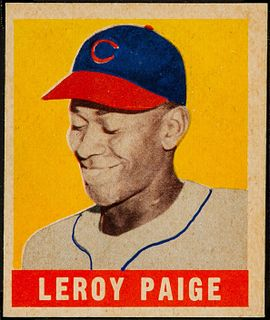 Satchel Paige American baseball player and coach; Negro Leagues