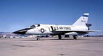 194th Fighter Squadron - 194th Fighter-Interceptor Squadron - Convair F-106A-100-CO Delta Dart 58-0774, 1975