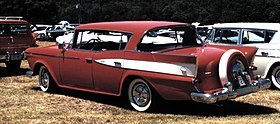 1959 Rambler Country Club 4-door hartop red Nashville.jpg