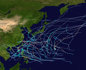 1966 Pacific typhoon season summary map.png