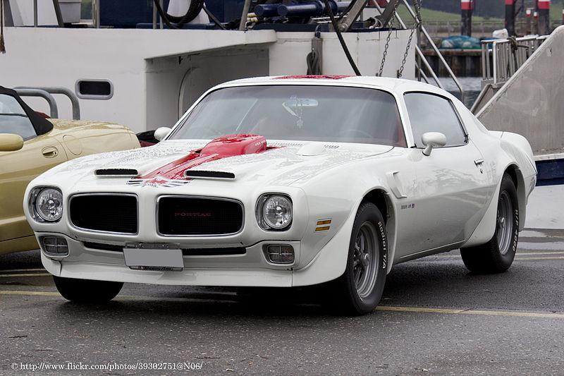 File:1971 Pontiac Firebird Trans Am (7243048762).jpg