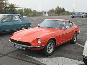 1972 Datsun 240Z in Bucharest.jpg