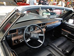 1987 lincoln town car dashboard (open-roof limousine conversion)