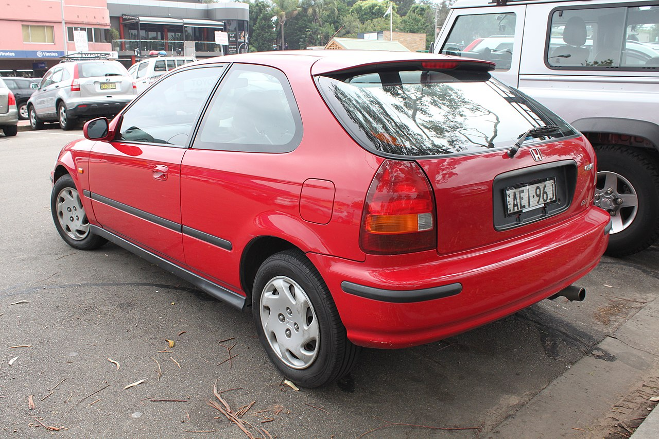 Superior File:1996 Honda Civic (EK) GLi Hatchback (24586633559)