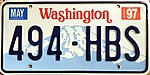 1997 Washington state license plate.jpg