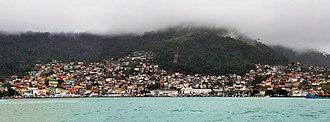 Angra dos Reis - Image: 1 angra dos reis panorama 2010