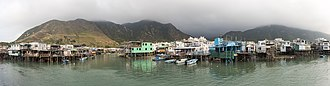Tai O - Stilt houses (pang uk) in Tai O