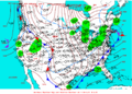 2003-01-10 Surface Weather Map NOAA.png