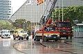 2005년 5월 9일 서울특별시 강남구 코엑스 재난대비 긴급구조 종합훈련 리허설 DSC 0171.JPG