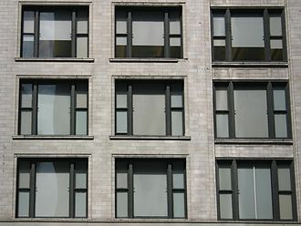 Chicago school (architecture) - Chicago School window grid
