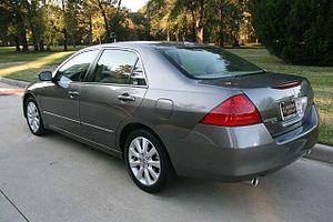 Honda Accord (North America seventh generation) - MY06 Facelift