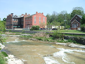 Port Hope, Ontario - Ganaraska River at Port Hope