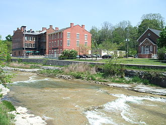 Port Hope, Ontario - Ganaraska River at Port Hope