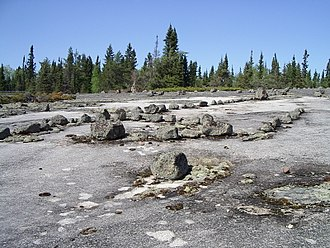 Manitou - Petroforms in Whiteshell Provincial Park