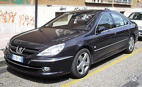 2008 Peugeot 607 front.JPG