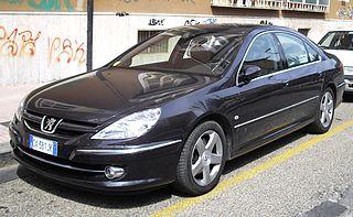 Peugeot 607 Motor vehicle