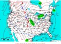 2009-01-16 Surface Weather Map NOAA.png