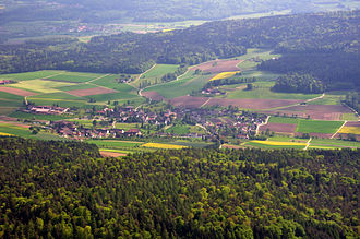 Bachs - Bachs and surrounding countryside