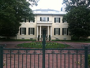 Executive Mansion (Virginia) - Virginia Executive Mansion on July 10, 2011