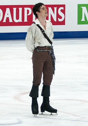 Javier Fernández (figure skater) - Fernandez at the 2011 World Figure Skating Championships.