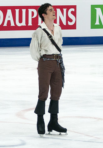 Javier Fernández (figure skater) - Fernandez at the 2011 World Figure Skating Championships.