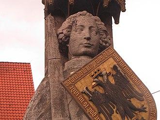 Orlando (opera) - Statue of Roland (Orlando) in Bremen