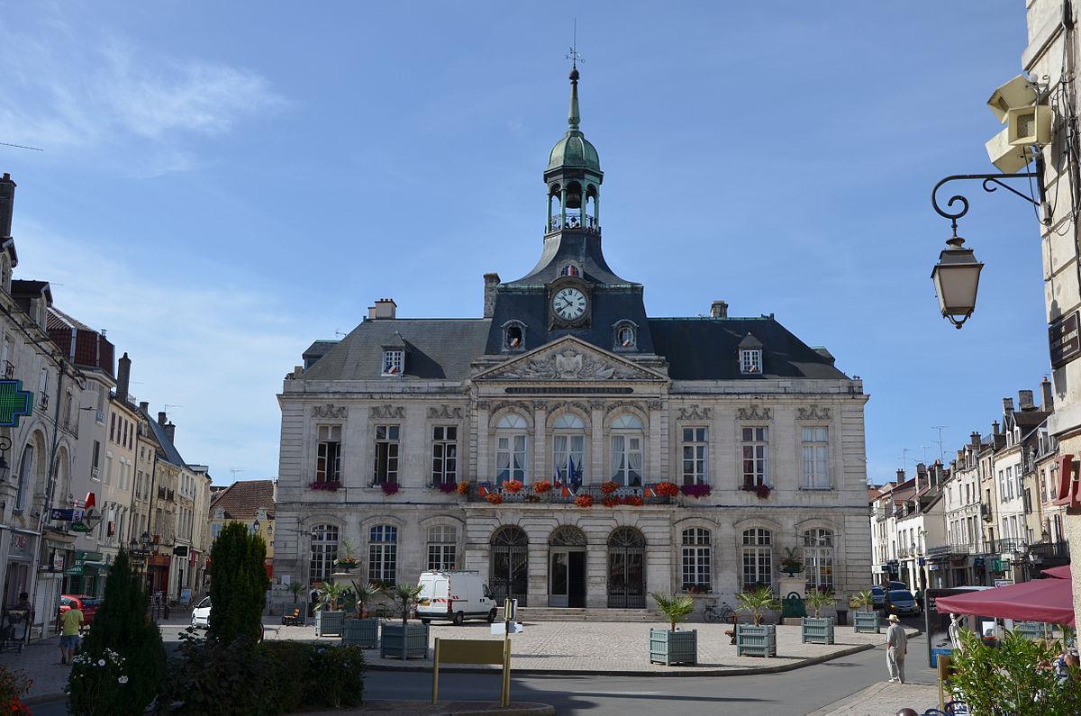 H tel de ville de chaumont wikip dia for Pays de chaumont