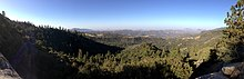 2013-09-20 08 45 10 Panorama from an overlook on California State Route 180 near the southwestern edge of Giant Sequoia National Monument.JPG