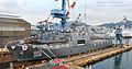 2013. 9. 천왕봉함 진수식 Rep. of Korea Navy ROK Ship Chunwangbong Launching Ceremony (9732841805).jpg