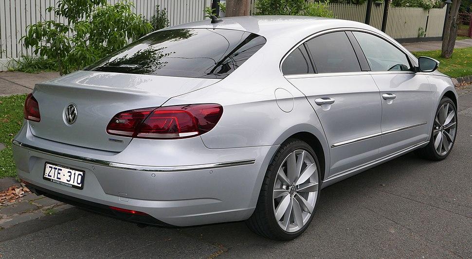 2013 Volkswagen CC (3CC MY13.5) 130TDI sedan (2015-11-11) 02