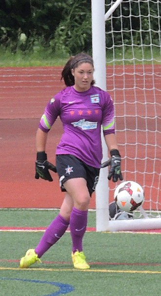 Taylor Vancil - Vancil playing for Chicago Red Stars, 2014